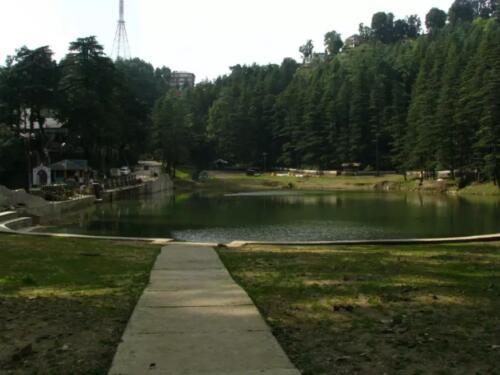 Dal Lake In Himachal Pradesh