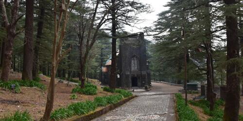 Church in MeLeodGanj